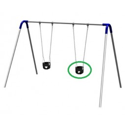 UPlayToday 55-451 Strap Swing Seat
