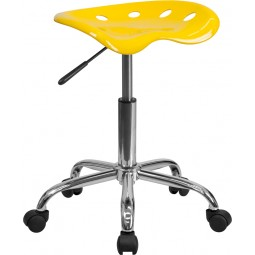 Vibrant Tractor Seat and Chrome Stool - 16 Seat Options