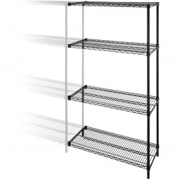 Add-On Unit - Contains 4 Shelves and 2 Posts