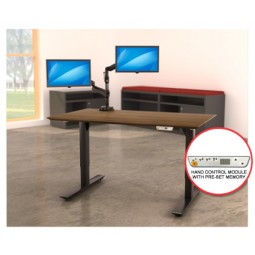Lorell Electric Height-Adjustable Sit-Stand Desks - Tops and Frames Sold Separately