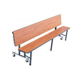 "Mobile Convertible Bench 84"" x 29"" - AmTab MCB7"