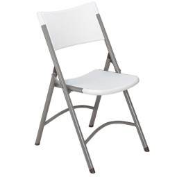 NPS 600 Series Blow-Molded Plastic Folding Chairs - Three Colors - Must Order in Multiples of 4