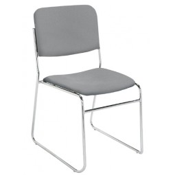 NPS Signature Fabric Upholstered Stack Chair - Classic Gray - 8652