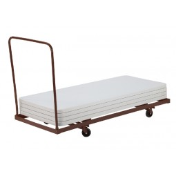 """NPS Folding Table Dolly - Rectangle - 72"""" Maximum Length - Holds up to 12 Tables - DY-3072"""