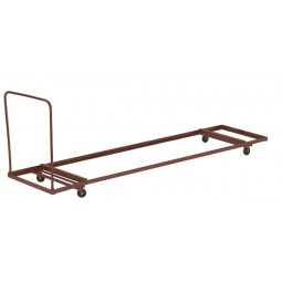 """NPS Folding Table Dolly - Rectangle - 96"""" Maximum Length - Holds up to 12 Tables - DY3096"""