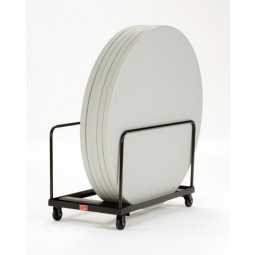 """NPS Folding Table Dolly - Round - 60"""" Maximum Diameter - Holds up to 10 Tables - DY60R"""