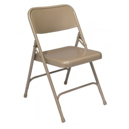 NPS 200 Series Premium All Steel Folding Chairs - Double Hinge - Six Colors - Must Order in Multiples of 4