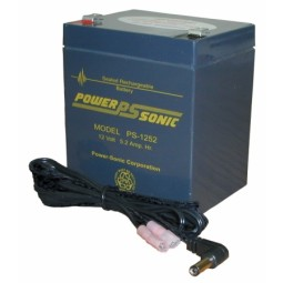 Power Sonic 12 Volt 5-Amp Rechargeable Battery - PS12V by Oklahoma Sound