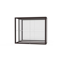 """Waddell Champion Series 2282 Wall Case with One 12""""D Full-Length Shelf - Multiple Options"""