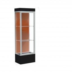 """Waddell Edge Series 93 2' Wide Lighted Floor Case with 12"""" base - Multiple Options"""