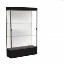 """Waddell Edge Series 94 4' Wide Lighted Floor Case with 12"""" base - Multiple Options"""