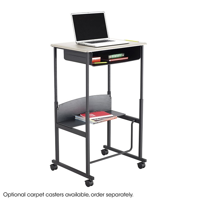 Safco Alphabetter Sit To Stand Desk Small 28 Quot X 20