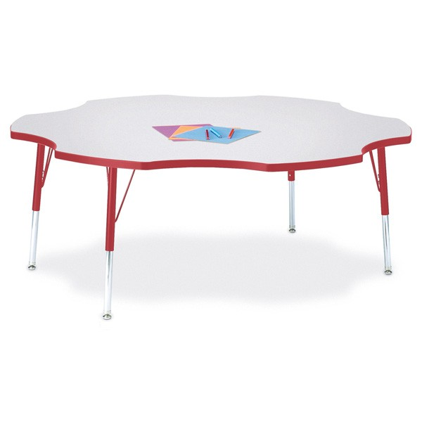 Jonti Craft Berries® Six Leaf Activity Table   Select Size, Height And Color