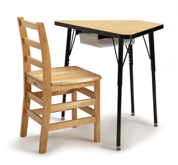 ... Jonti Craft Berries® Tall Trapezoid Desk Chair And Accessory Drawer  Sold Separately