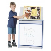 Jonti-Craft Rainbow Accents Big Book Easel - Four Surfaces in Multiple Edge Colors