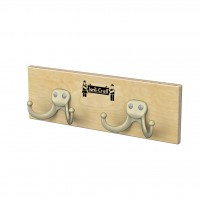 Jonti-Craft Wall Mount Coat Rail - Four Sizes