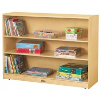 Jonti-Craft 0769JC Super-Sized Adjustable Mobile Straight-Shelf