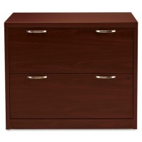 HON 2 Drawer Lateral File, Mahogany