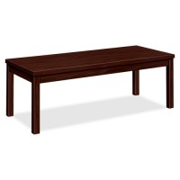 HON Coffee Table, Laminate, Mahogany