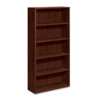 HON 10700 Series Bookcase, Mahogany - Multiple options
