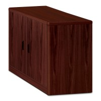 HON 10700 Series Storage Cabinet with Doors, Mahogany