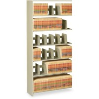 Tennsco Shelving 6-Shelf Add-on Unit, Sand - Multiple options