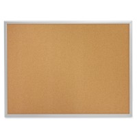 "Quartet Cork Boards, 1⅛"" Frame, Aluminum Frame - Multiple options"