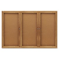 Quartet Cork Boards, Enclosed, Oak Frame - Multiple options