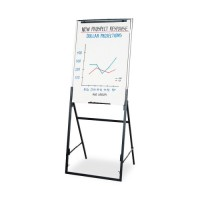 "Quartet Adjustable Easel, Portable, 40"" to 67""H, Black"