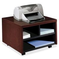 HON Mobile Printer/Fax Stand, Mahogany