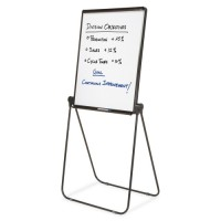 "Quartet Adjustable Easel, 2Sided, 27"" x 34"", 39"" to 70""H, Black"