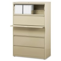 "Lorell Lateral File, 36W"", Putty - Various Sizes"