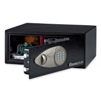 "Sentry Security Safe, with Electronic Lock, 16⁹⁄₁₀"" x 14⅗"" x 7¹⁄₁₀"", Black"