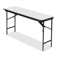 Iceberg Rectangular Folding Tables, Wood - Multiple options