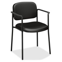 basyx by HON VL616 Guest Chair - Black Leather
