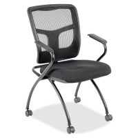 Lorell Guest Chair - Black - Purchase in quantities of 2