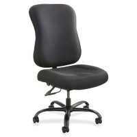"Safco Optimus Task Chair, 400lb Cap, 25"" x 25"" x 42½"", Black"