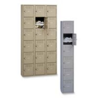 Tennsco 6 Tier Box Locker - Multiple options