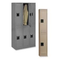 Tennsco Double Tier Locker - Multiple options