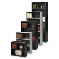 Safco Multi Shelf Bookcase - Multiple options
