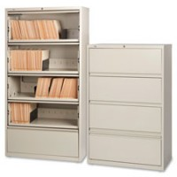 Lorell Lateral Files, RCD, 5 Drawer - Multiple options
