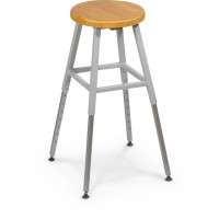 Gray Lab Stool - 34419R