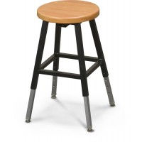 Black Lab Stool - 34441R
