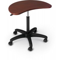 MooreCo POP Mobile Laptop Stand - Black or Mahogany