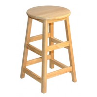 "STL Series 24"" Solid Hardwood Stool"