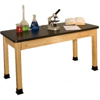 "BS-BK Series 30""x60"" High Pressure Laminate Science Table"