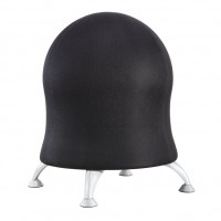 Zenergy™ Ball Chair, Black-BL