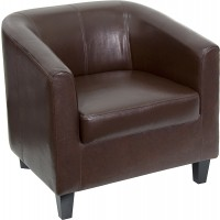Leather Office Guest Chair / Reception Chair - 2 Seat Options