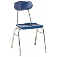 "Columbia Manufacturing 17.5"" Seat Height Super Stacker - Blue"
