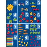 Counting Rug 1-12